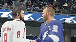 NHL Eastern Conference Final Game 7 Washington Capitals vs Tampa Bay Lightning Sim NHL 18 Xbox One