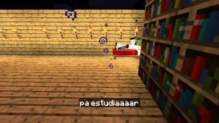 MinecraftXD||Opening 1 (Me han Caido Tres de Raruto Sisepuede) Version Minecraft