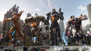 6 NEW Pacific Rim 2 Uprising CLIPS + Trailers