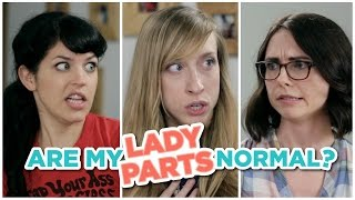 Are My Lady Parts Normal?