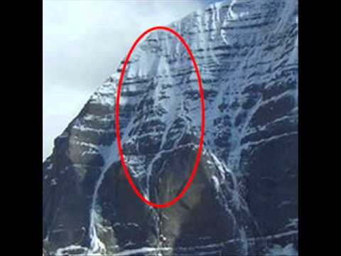 Lord Shiva Face On Kailash must see