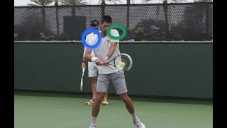 Two Handed Backhand Lesson: Body Position At Contact