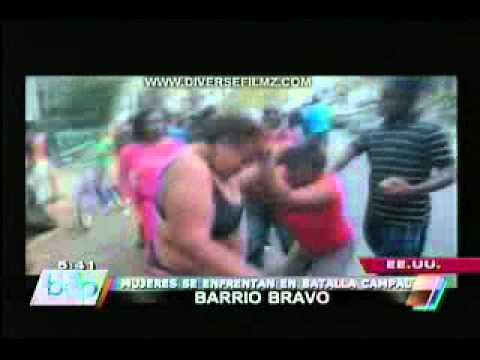 VIDEO mujeres se enfrentan a golpes en plena calle de Nueva Jersey