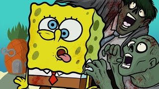 SPONGEBOB SQUAREPANTS ZOMBIE MAP! - COD WaW Modded Zombies Funny Moments