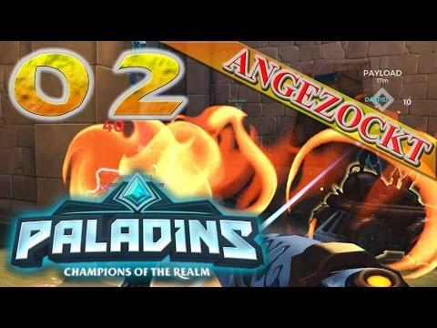 Paladins #02 ★ Die geröstete KAMPFSAU :D ★ Lets Play Paladins - Angezockt (Ger/De)