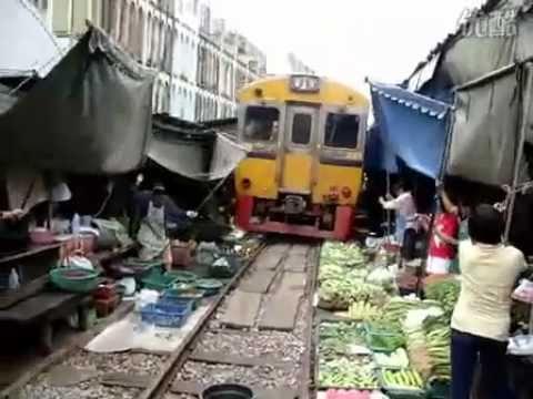 Train track Veggie Market