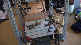 WWE METAL VENGEANCE PLAYSET WITH REAL SOUND EFFECTS REVIEW!
