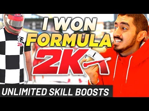 HOW I WON FORMULA 2K UNLIMITED BOOSTS in NBA2K20 SHOT CREATOR WINS HARDEST PARK EVENT