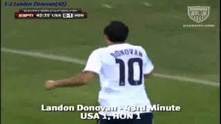 QWC 2010 USA vs. Honduras 2-1 (06.06.2009)