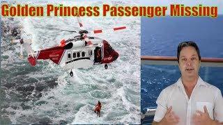 Passenger Missing on the Golden Princess