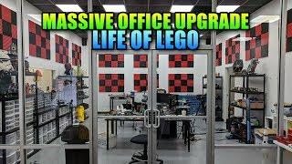 Massive Office Upgrade - Secret Life Of Lego