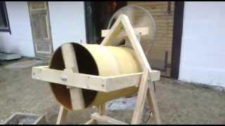 Homemade concrete mixer 1