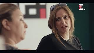رشا وحماتها - رشا لابسة اسود وداخلة علي حماتها المريضة وبتقولها لابسة اسود احتياطي