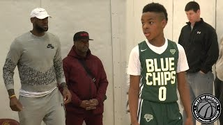 LeBron James Jr. drops DIMES in-front of Dad!!! Bronny shows vision at Buckeye Prep Invitational