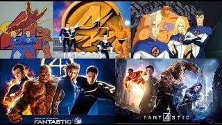 Fantastic Four - Evolution in Cartoons & Films