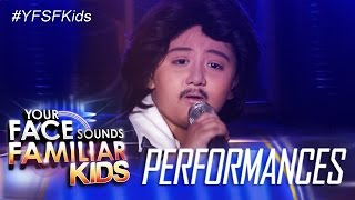 Your Face Sounds Familiar Kids: Alonzo Muhlach as Rico J. Puno- Macho Gwapito