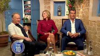 Mamma Mia! 2 Exclusive: Stellan Skarsgård, Christine Baranski & Pierce Brosnan | Studio 10