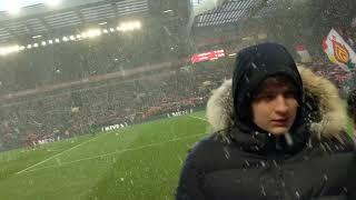 #YNWA Sang In The Snow Mo Salah