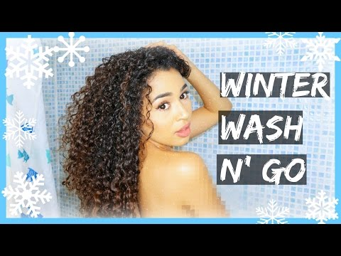 Curly Hair Winter Wash n Go Routine & EPIC PRODUCT GIVEAWAY | Lana Summer