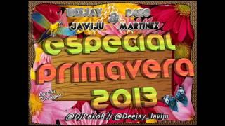 01 - Deejay Javiju & Pako Martinez Dj - Especial Primavera 2013