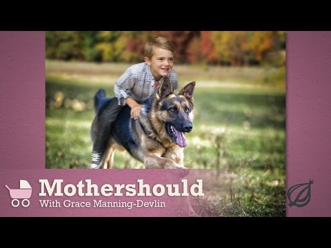 It's A Mom's Right To Decide Whether Her Kids Ride A Stranger's Dog