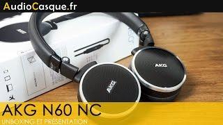 AKG N60 NC - Unboxing et Test [FR] Un superbe casque à réduction de bruit !