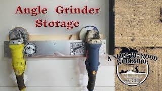 How to Make Angle Grinder Storage