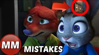 Disney Zootopia Movie MISTAKES You Didn't See | Zootopia GOOFS