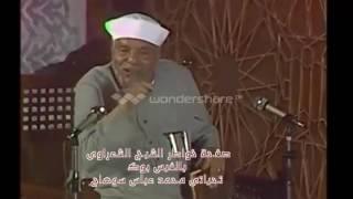 الشيخ الشعراوى يوضح لماذا طلب سيدنا موسى من الله ان يرسل معه اخاه هارون
