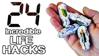 24 Incredible Life Hacks and Gadgets!