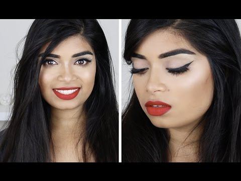 TUTORIAL: 1950's Pin Up Inspired ♡ feat ABH Cream Contour Palette