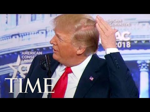 Xxx Mp4 President Trump Jokes About His Bald Spot At CPAC I Try Like Hell To Hide The Bald Spot TIME 3gp Sex