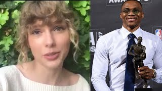 Taylor Swift Surprised Everyone With A Hilarious Tribute To Russell Westbrook