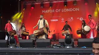London School of Dhol – Diwali on the Square 2017