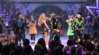 The Black eyed Peas-the time.i just can't get enough (kids choice awards).mkv