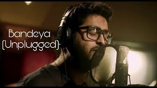 Bandeya(Unplugged) | Arijit Singh | Dil Juunglee | Taapsee | Lyrical Video | Cover ~ ASHISH |