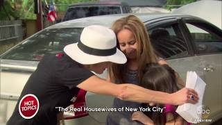 Two 'Real Housewives of NY' Feud Over Charity Work In Puerto Rico   The View