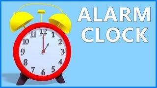 Clock Song For Kids | Alarm Clock For Children