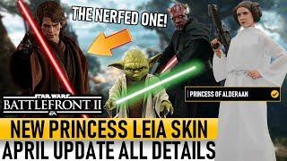 NEW LEIA SKIN, ANAKIN NERF & KASHYYYK CAPITAL SUPREMACY! Star Wars Battlefront 2 April Update