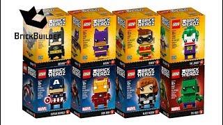 All LEGO BrickHeadz Compilation - Lego Speed Build