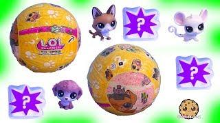 LOL Surprise Pets + LPS Littlest Pet Shop - Cookie Swirl C Toy Video