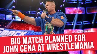 Big Match Planned For John Cena At WrestleMania 34
