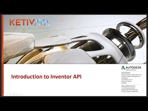 Xxx Mp4 Introduction To Inventor API ILogic Autodesk Virtual Academy 3gp Sex
