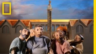 Building an Ancient, Mysterious Monument (Amazing Stop-Motion) | National Geographic
