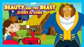 Beauty And The Beast Story and Song - Fairy Tales For Kids || English Fairy Tale For Children