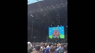 Raury - Fly (live) @ Lollapalooza 8-1-15