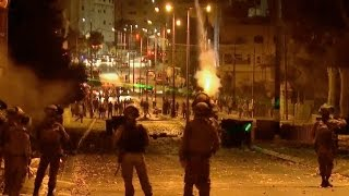 Stone-throwing Palestinians shot by undercover Israeli cops