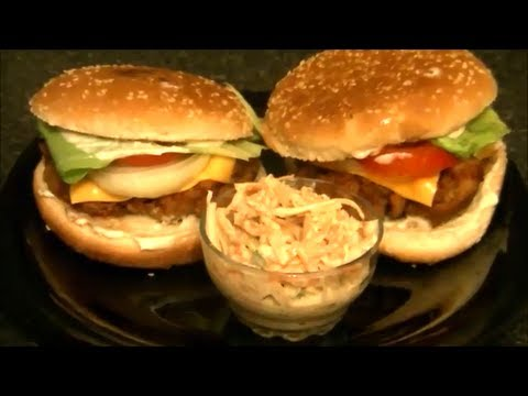 KFC CHICKEN BURGER *COOK WITH FAIZA*