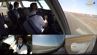 LH Cargo MD 11F ULTIMATE COCKPIT MOVIE 3/4 to Nairobi,FULL ATC [AirClips full flight series]