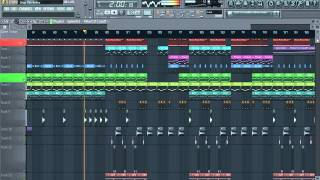 Drums & Bass - FL Studio 11 Awesome Tune 2013